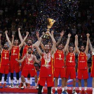 Espanya campiona món bàsquet EFE