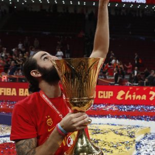 Ricky Rubio campió mundial basquet EFE