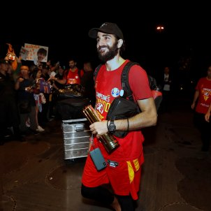 Ricky Rubio Espanya bàsquet EFE