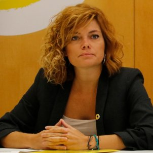 Elisenda Alamany Ernest Maragall ERC Ajuntament Barcelona - ACN