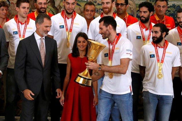 Felip Letícia Mundial baloncesto copa EFE