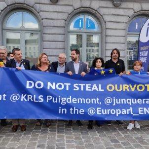 Protesta Parlament Europeu
