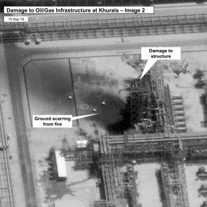 Arabia Saudita petroli dron atac