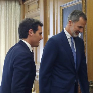 Consultes Rei investidura Sánchez Albert Rivera - Efe