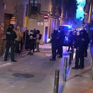 Ka la kastanya Gràcia okupes Mossos Guillem Ramos