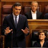 Sánchez PSOE sesió control congrés EFE