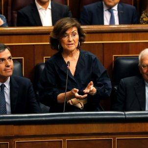 Calvo PSOE sessió control congrés EFE