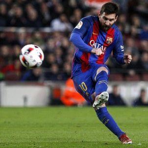 Leo Messi Athletic falta EFE