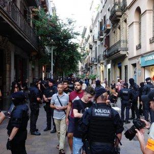 manifestacio ocupa gracia - Roberto Lázaro