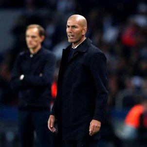 Zidane PSG Reial Madrid EFE
