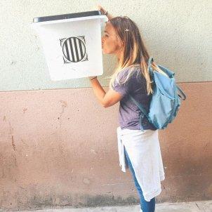 Beth Rodergas urna referendum @bethrodergas