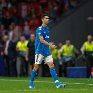 Cristiano Ronaldo Atletic Madrid Juventus EFE