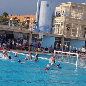 Foto waterpolo CN Mataró