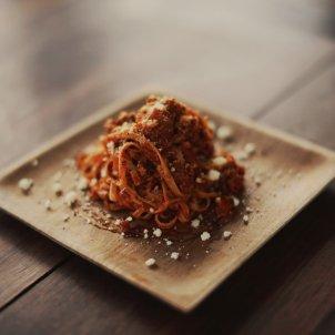 Spaghetti bolognesa Unsplash