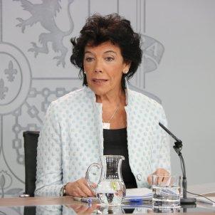 Isabel Celaá Consell de Ministres ACN
