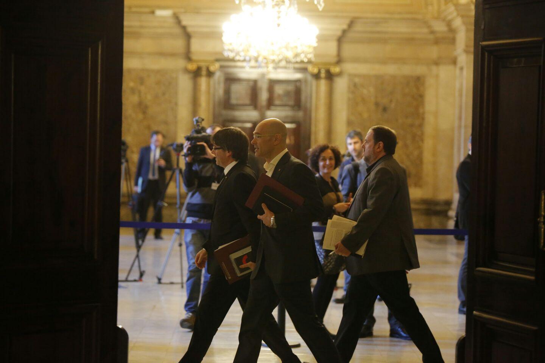 Puigdemont este gobierno seguir haciendo acci n exterior for Gobierno exterior