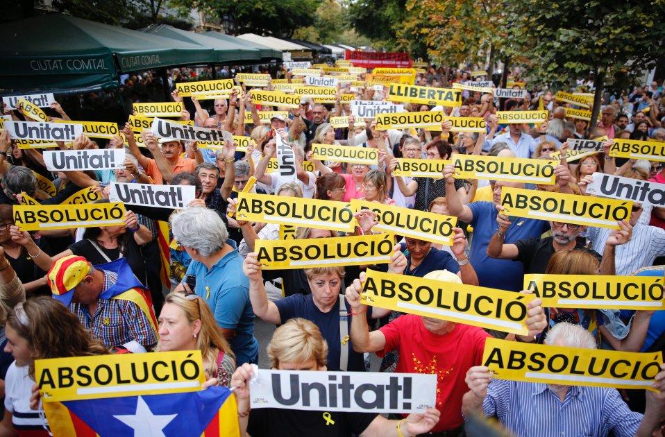Manifestació 20-S Dos Anys Sergi Alcàzar