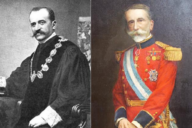 El conde de Romanones y lo marcara de Comillas. Font Viquipedia