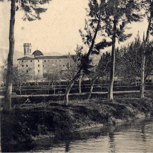 Els jesuites retornen a Catalunya. Col·legi Maxim de Jesús. Tortosa. Principis del segle XX. Font Blog Tortosa Antiga