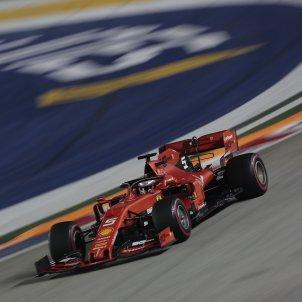 Sebastian Vettel GP Singapur Formula 1 EFE