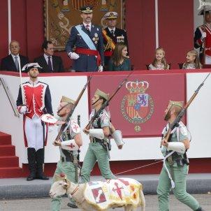 Felipe VI Legión desfilada GTres