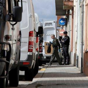 Guardia Civil escorcolls Sabadell operació contra independentistes EFE