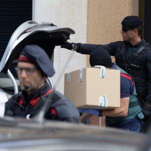 Guardia Civil escorcolls Sabadell operació contra independentista EFE