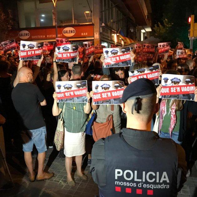 Manifestacio Barcelona detencio CDR terrorisme - Carlota Camps