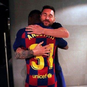 Messi Ansu Fati @ansufati