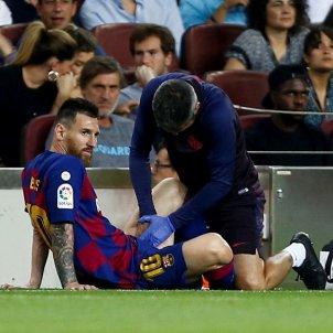 Messi lesionat Barca Villarreal EFE