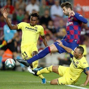 Pique Cazorla Barca Villarreal EFE
