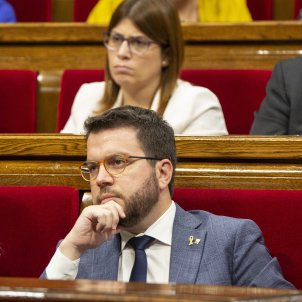 Debat Politica General Pere Aragones ERC Parlament - Sergi Alcàzar