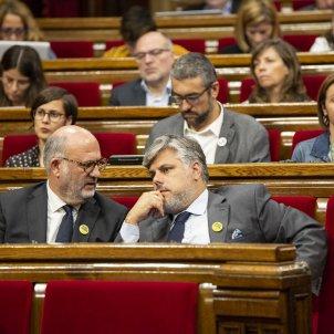 Debat Politica General Eduard Pujol Albert Batet JxCat  Parlament - Sergi Alcàzar