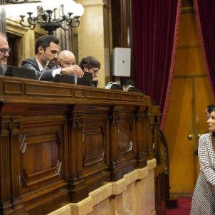 Debat política General Roger Torrent Roldan Ciutadans -Sergi Alcàzar