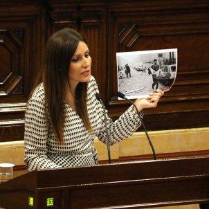 Lorena Roldán Atemptat Vic Parlament Debat Política General - ACN