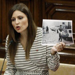 Lorena Rondal Foto Atemptat Debat Politica General - Sergi Alcàzar