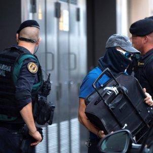 cdr policia guardia civil detencions 23 setembre EFE