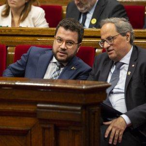 Pere Aragones Quim Torra Debat Politica General - Sergi Alcàzar