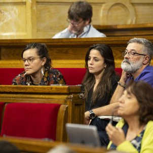 CUP Natalia Sanchez Maria Sirvent Carles Riera Debat Politica General Sergi Alcàzar 36