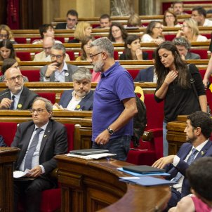 CUP bandona ple Debat Politica General - Sergi Alcàzar