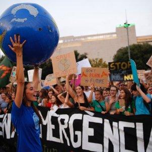 manifestacio vaga clima barcelona fridays for future - Sergi Alcàzar