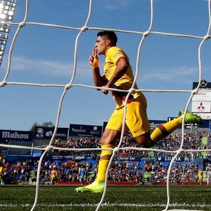 Luis Suarez Getafe Barca Lliga 2019 2020 efe