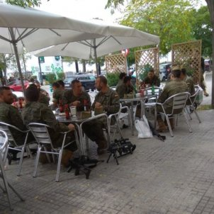 Militars terrassa Vilafranca CUP Vilafranca