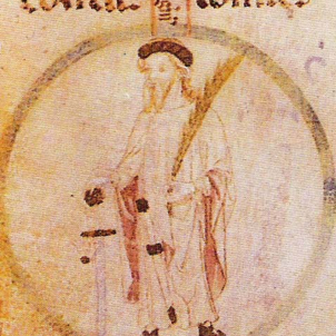 Mor Borrell II, el primer comte català independent. Representació de Borrell II. Font Monestir de Poblet