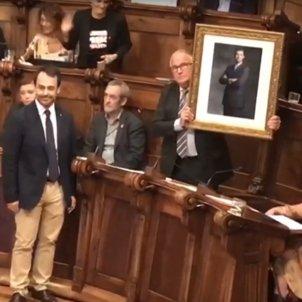 Josep Bou retrat Felip VI   captura pantalla