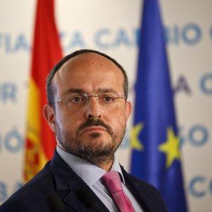Comité direcció PP Barcelona Alejandro Fernández - Sergi Alcàzar