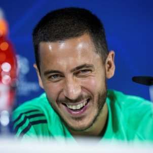 Hazard Reial Madrid EFE