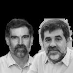 Jordi Cuixart i Jordi Sànchez