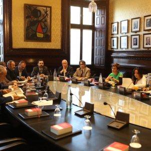 El Nacional reunió de la mesa del parlament i junta portaveus Sira Esclasans