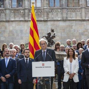 Govern Torra Aragones Compromis Aniversari 1 O - Sergi Alcàzar
